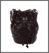 BUCKET BAG NEW WESTERN BLACK