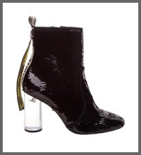STATEMENT BLACK BOOT