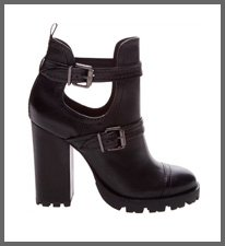 COMBAT BOOT TRATORADA CUT OUT BLACK