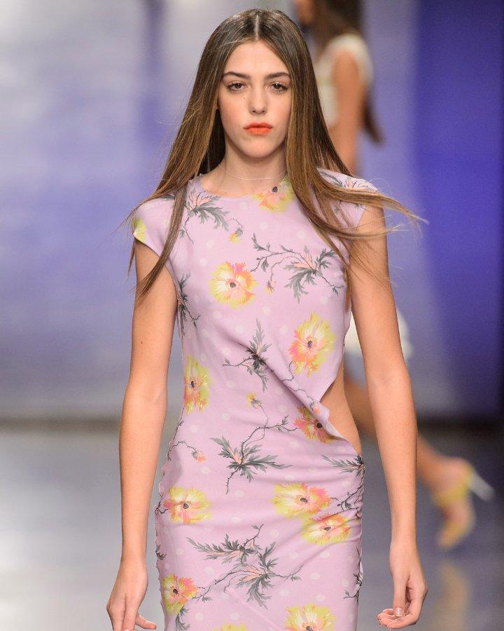 look floral cor lavanda
