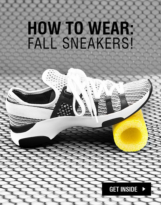 HOW TO WEAR: FALL SNEAKERS!