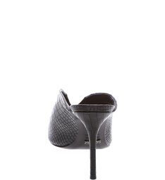 Mule Vamp Croco Black