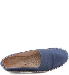 Flat Espadrille Blue