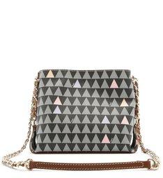 It Bag Triangle Lines Black