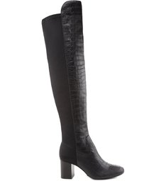 Over The Knee Parisienne Croco