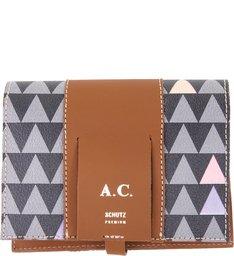 Porta-Passaporte Triangle Black - Personalização Bag Charm