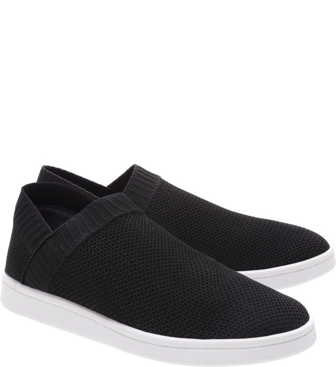 Tênis Slip On Knit Black