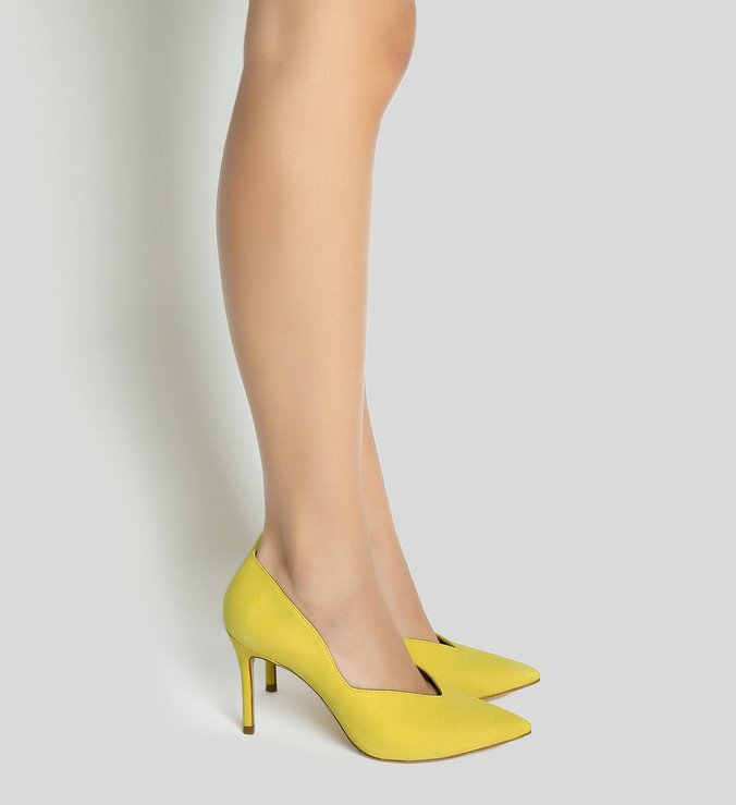 Scarpin Curves Yellow