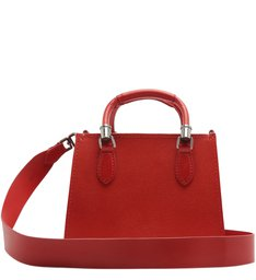 Mini Tote Lorena Strap Red