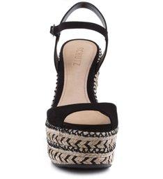 Sandália Plataforma Bicolor Black