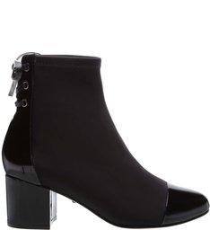 Sock Boot Verniz Black