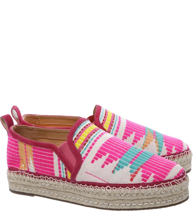 Slip On Multicolor Print Neon