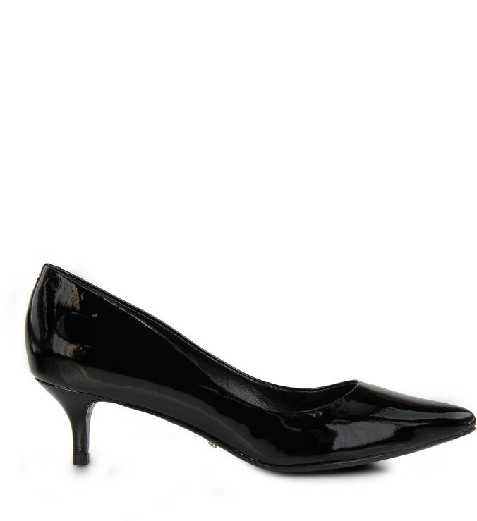 Scarpin Kitten Heel Black