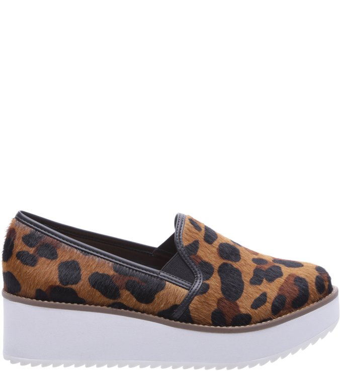 256b7499f99 Slip On Flatform Animal Print