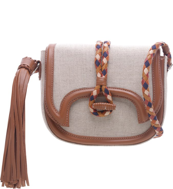 Crossbody Lana Linho Natural | Schutz