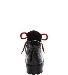 Short Boot Sola Tratorada Black Verniz