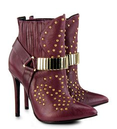 Ankle Boot Marching Orders Cabernet