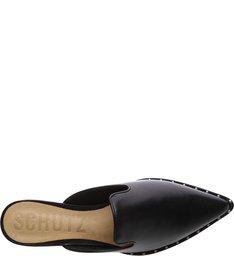 Mocassim Mule Leather Black