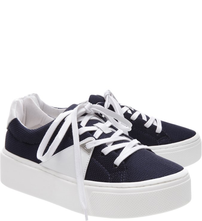 Tênis S-HIGH White and Blue