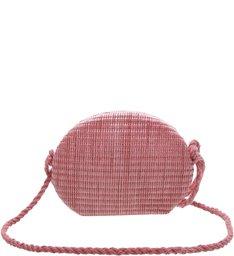 Crossbody Palha Pink