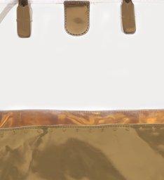 Bolsas Tiracolo Multimaterial Metalizado