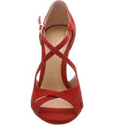 Sandália Pin Heel Curves Red