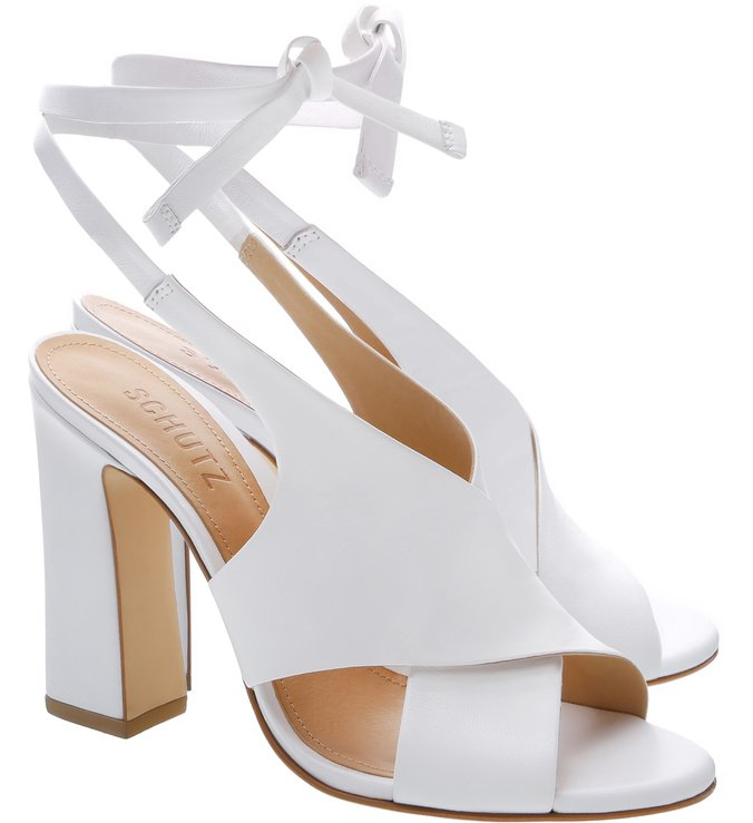 Sandália Aventura Lace-up White