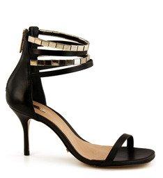 Sandália Tornozeleira Dourada