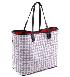 Tote Triangle White