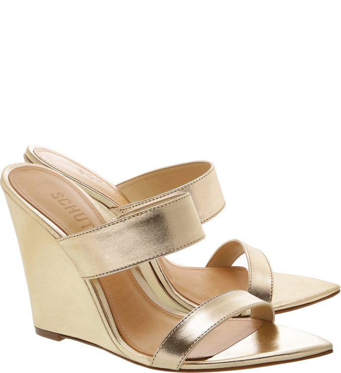 Mule Fresh Metallic Gold