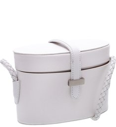 Mini Box Bag White