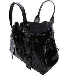 Shopping Maxxi Bag Bright Snake Black