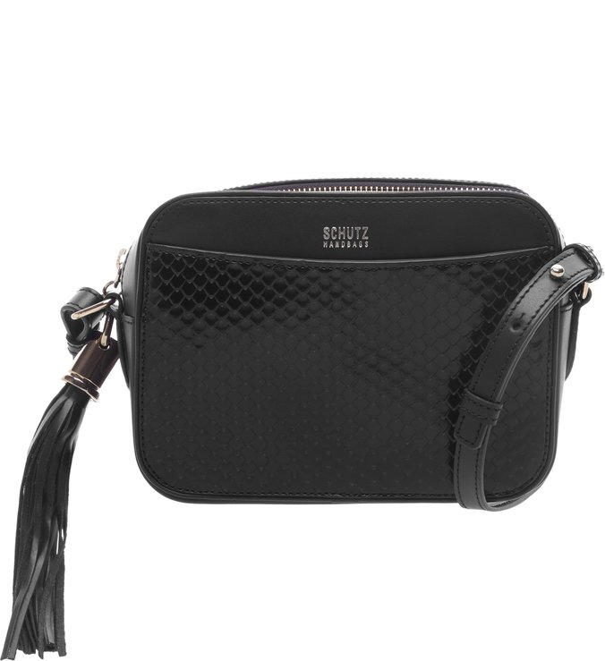 Crossbody Box Bright Snake Black | Schutz