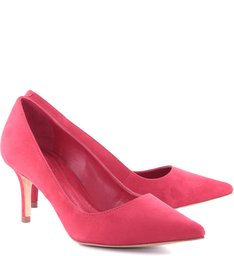 Scarpin Honey Nobuck Red