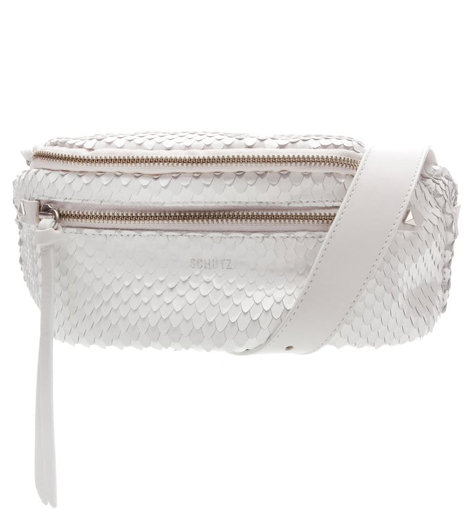 Belt Bag Bright Snake White