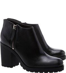 Short Ankle Boot Black