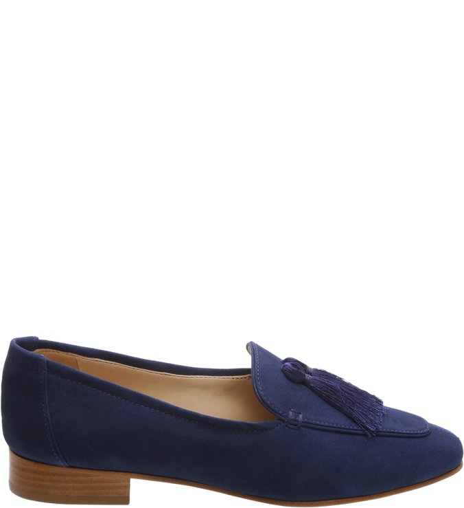 Mocassim Tassel Dress Blue
