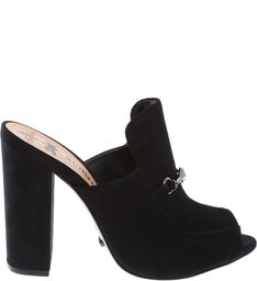 Mule High Heel Black