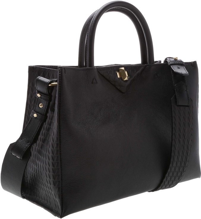 Mini Tote Slouchy Black