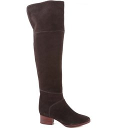 Over The Knee Slouchy Boot Hot Coffee