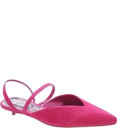 Mule Micro Heel Straps Pink