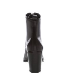 Bota Zip Me Leather Black