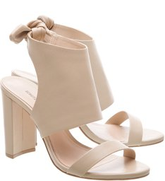 Sandália Giulia Block Heel Coconut