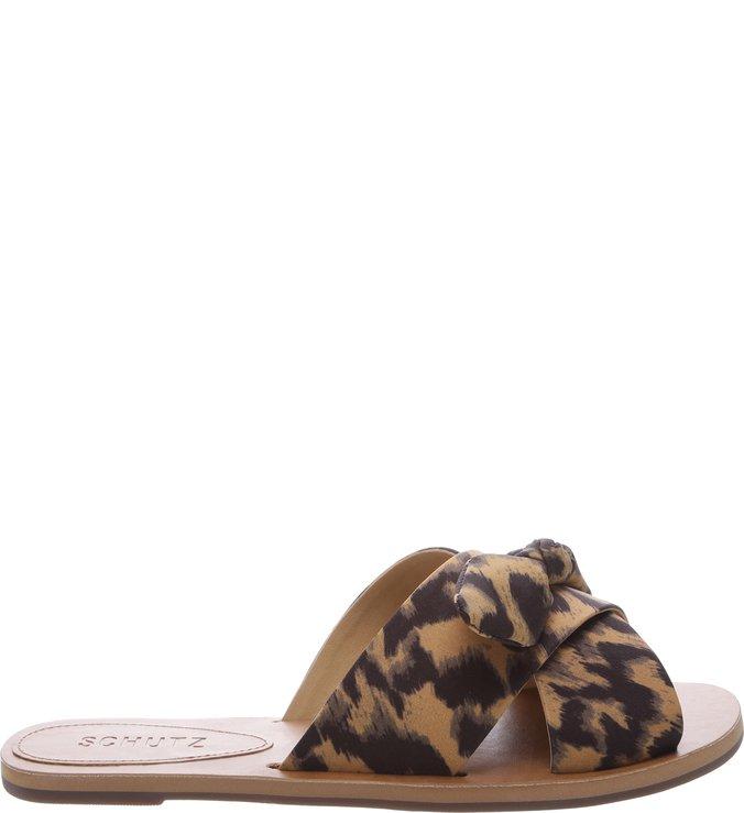 Flat Slide Cross Leopard