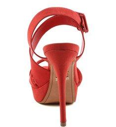 Sandália Salto Alto Red