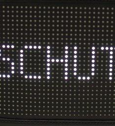 Crossbody Schutz Tech Black
