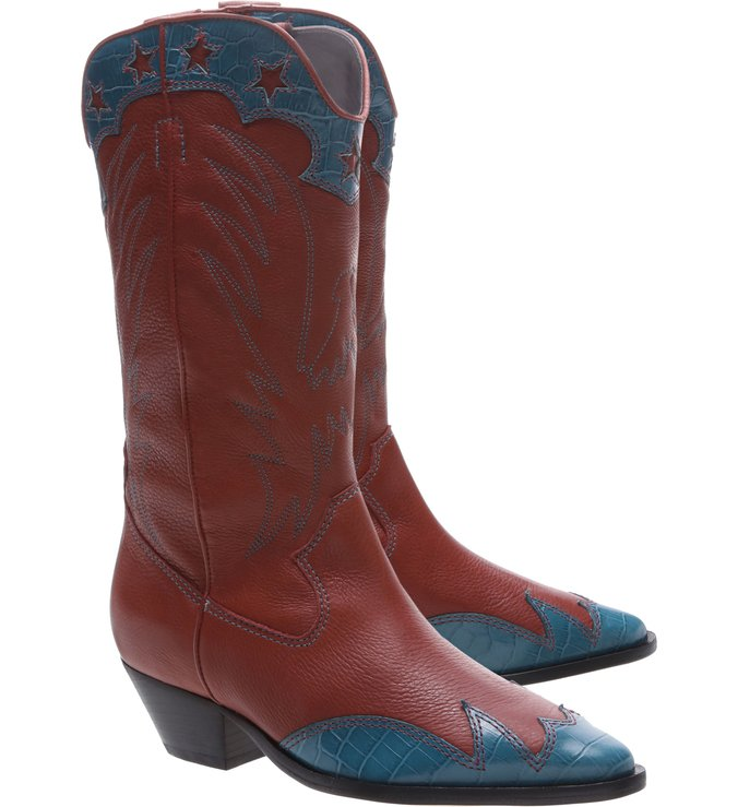 Bota Glam Western Brown & Color