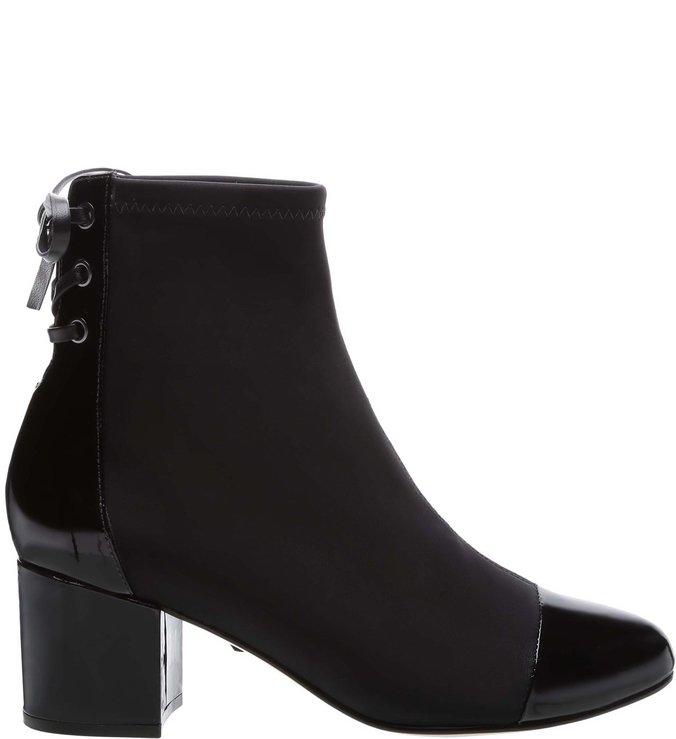 4f46904f83 Sock Boot Verniz Black