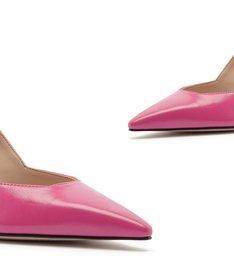 Scarpin Mid Heel Pink