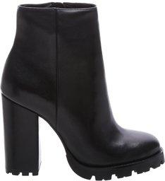 Bota Block Heel Tratorada Black